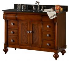 48 Inch Single Sink Bath Vanity with Choice of Top