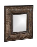 Howard Elliott Grant Square Antique Brown with Copper Mirror