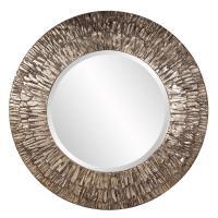 Linden Round Champagne Mirror