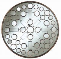 Marbella Brushed Bronze Round Mirror
