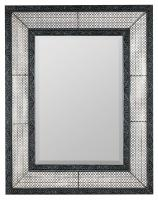 Cooper Classics Dearborn Distressed Gray Rectangular Mirror
