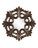 Howard Elliott Annabelle Unique Deep Bronze Frame with Burnished Copper Highlights Mirror
