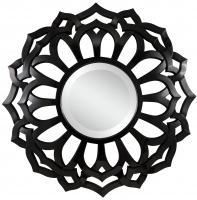 Cooper Classics Covington Glossy Black Unique Mirror