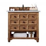36 Inch Single Sink Bathroom Vanity in Honey Alder
