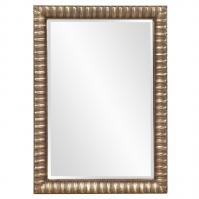 Howard Elliott Moore Rectangular Antique Mottled Silver Mirror