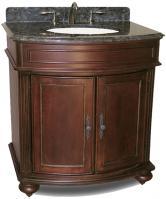 Kaco International 31 Inch Single Sink Bathroom Vanity