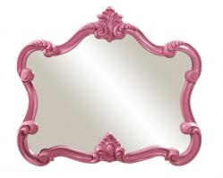 Howard Elliott Veruca Unique Glossy Hot Pink Mirror