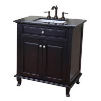 Bellaterra Home 32 Inch Single Sink Bath Vanity