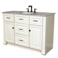 Bellaterra Home 50 Inch Single Sink Bath Vanity