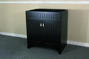 31 Inch Single Sink Bathroom Vanity with Choice of No Top