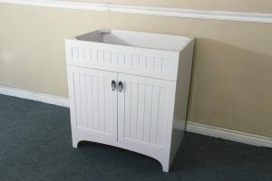 31 Inch Single Sink Bathroom Vanity in White