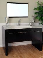 Bellaterra Home 55 Inch Single Sink Bathroom Vanity