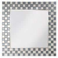 Howard Elliott Michael Square Checkerboard Mirror