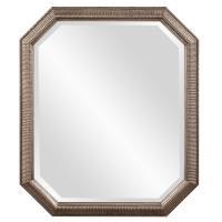 Virginia Octagonal Silver Leaf Mirror