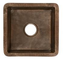 Native Trails Antique Copper Undermount Bar and Prep Sink