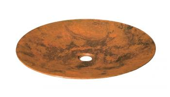 Tempered Copper Vessel Bathroom Sink