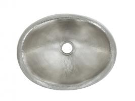 Nickel Copper Drop-In Bathroom Sink