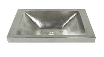 Native Trails Nickel Copper Raised Profile Bathroom Sink