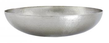 Native Trails Brushed Nickel Copper Vessel Bathroom Sink