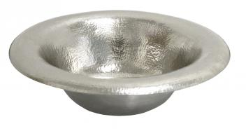 Native Trails Brushed Nickel Copper Drop-In Bathroom Sink
