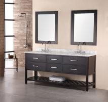 Design Element Co. 72 Inch Single Sink Bathroom Vanity