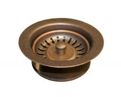 Native Trails Copper Disposer Trim w/Basket Strainer