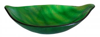 Eden Bath Green Leaf Shaped Vessel Sink