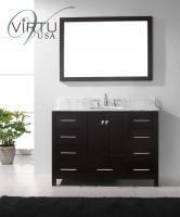 48 Inch Single Sink Bathroom Vanity Set with Matching Mirror