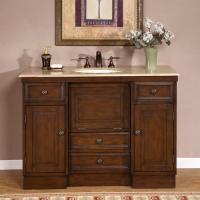 Silkroad Exclusive 48 Inch Single Bathroom Vanity