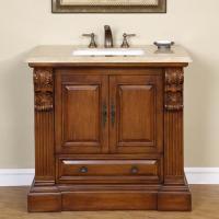 38 Inch Traditional Single Bathroom Vanity