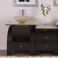 Silkroad Exclusive 49 Inch Single Sink Bathroom Vanity