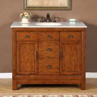 42 Inch Traditional Single Bathroom Vanity