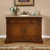 48 Inch Classic Style Single Sink Vanity Cabinet
