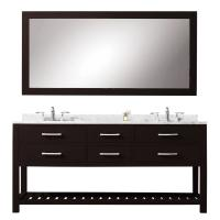 60 Inch Double Sink Bathroom Vanity with Soft Closing Drawers