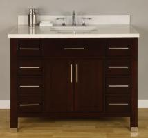 Empire 42 Inch Single Sink Bathroom Vanity