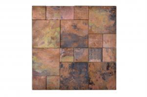 Copper Tones Mosaic Tile