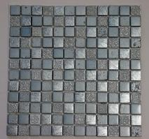 Light Steel Blue with Silver Stone Tile