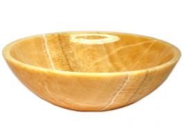 Honey Onyx Vessel Sink
