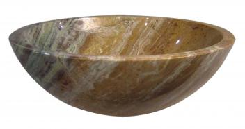 Quiescence Marble Blend Vessel Sink