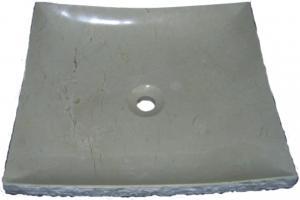 Crema Marfil Granite Vessel Sink
