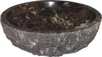Quiescence Dark Emperador Vessel Sink