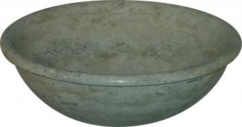 Quiescence Travertine Vessel Sink