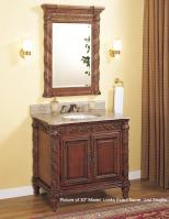 24 Inch Single Sink Bathroom Vanity with No Top