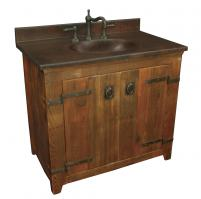 Native Trails 36 Inch Single Sink Bath Vanity in Chestnut