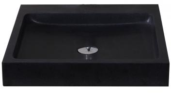 Shanxi Black Granite Square Vessel Sink