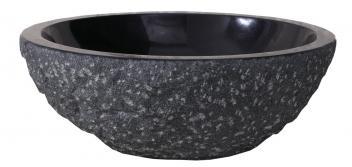 Shanxi Black Granite Round Vessel Sink