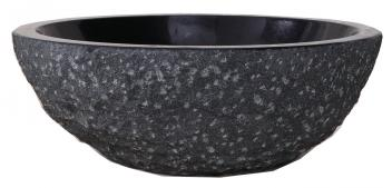 Shanxi Black Granite Round Vessel Sink
