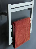 Brushed Nickel Towel Warmer with 6 Warming Bars