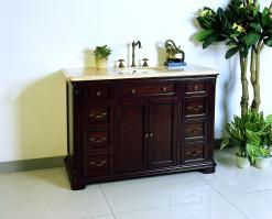 48 Inch Single Sink Bath Vanity with Lots of Drawers