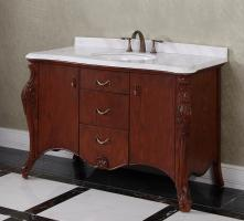 49 to 60 Inch Bathroom Vanities - Single & Double Sinks